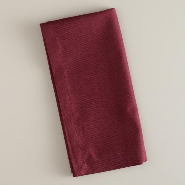 Fig Buffet Napkins, Set of 6