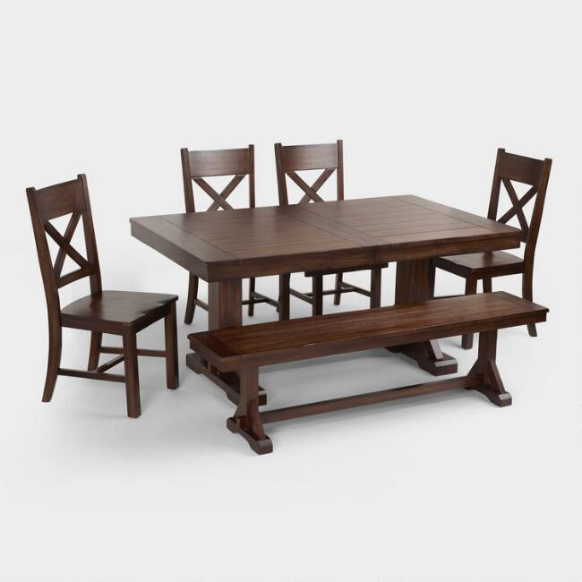 world market dining table Mahogany Verona Dining Collection | World Market world market dining table