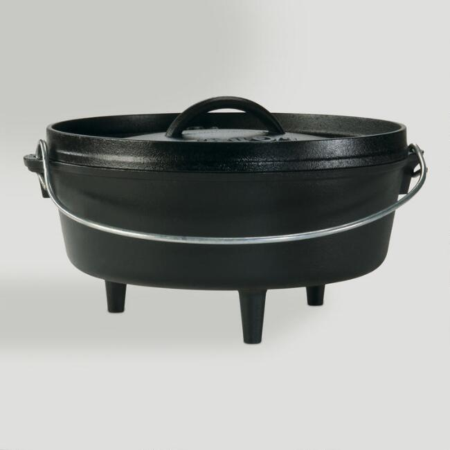 Lodge 4-Quart Camp Dutch Oven