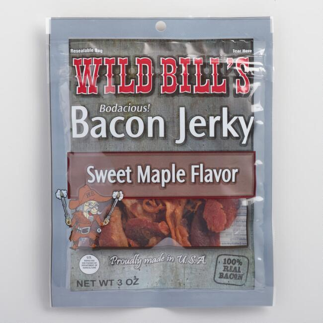 Wild Bill's Sweet Maple Bacon Jerky