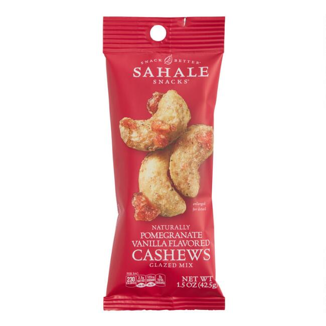 Sahale Snacks Pomegranate and Vanilla Cashews