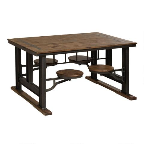 Peachy Galvin Cafeteria Table Andrewgaddart Wooden Chair Designs For Living Room Andrewgaddartcom