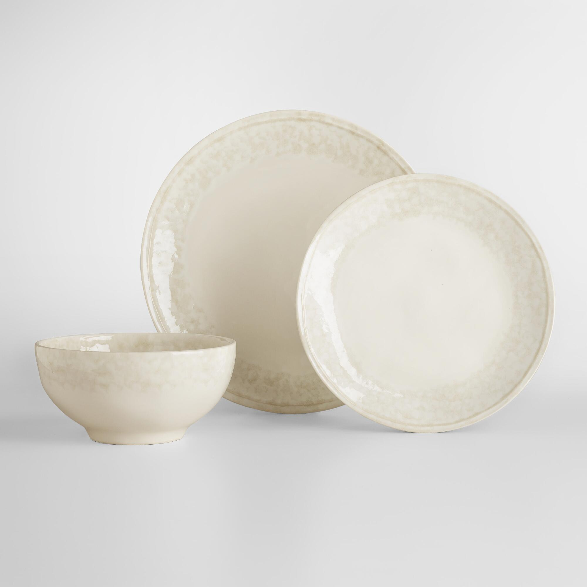 Reactive Glaze Muir Dinnerware Collection by World Market