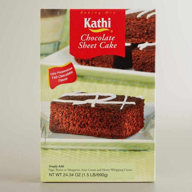 Kathi Chocolate Sheet Cake Mix
