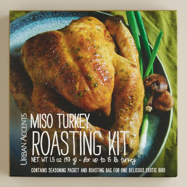 Urban Accents Spicy Miso Turkey Roasting Kit
