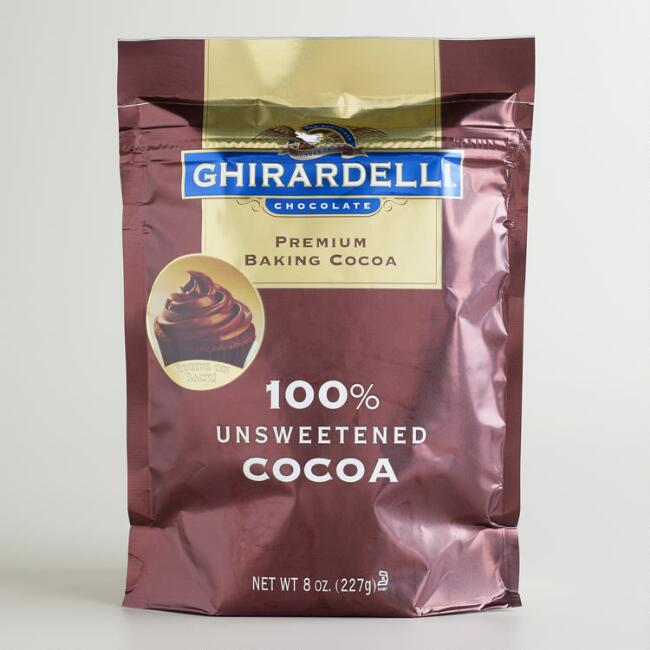 Ghirardelli Unsweetened Ground Chocolate Pouch