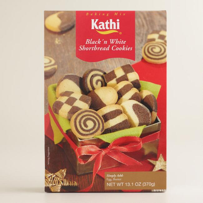 Kathi Black and White Shortbread Cookie Mix