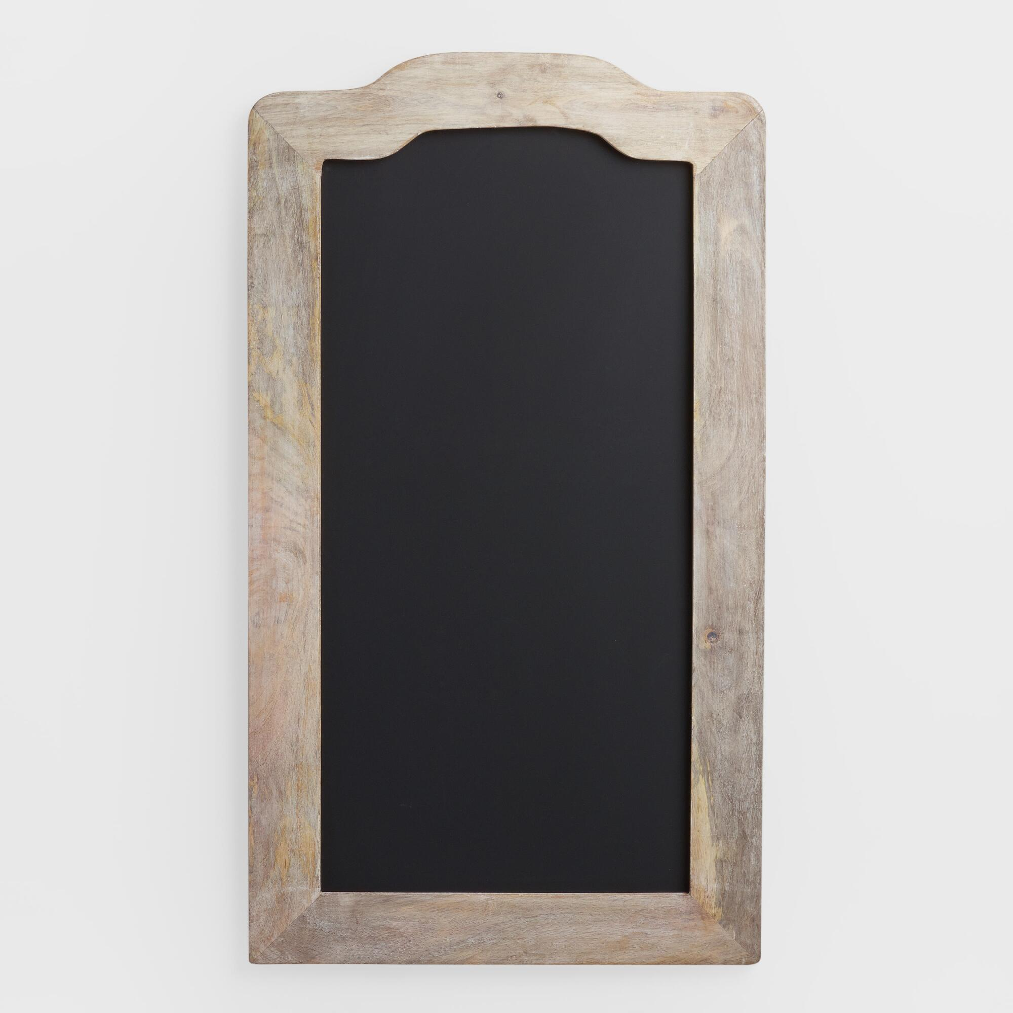 Farmhouse Chalkboard: Natural - Wood - Medium by World Market