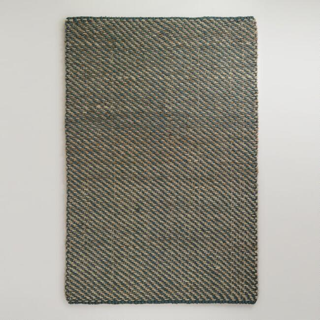 6' x 9' Natural Cable Rope Jute Rug