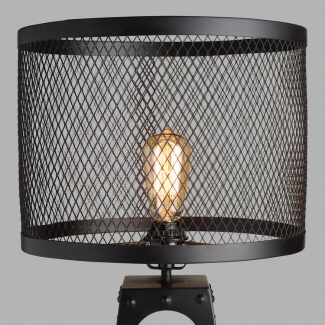 Riveted Table Lamp Shade