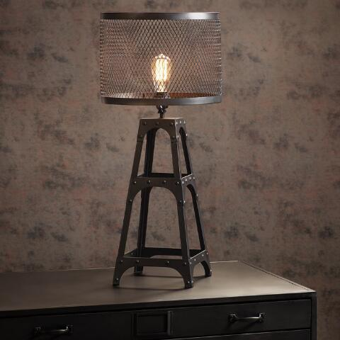Riveted Table Lamp Shade. Previous. v4 - Riveted Table Lamp Shade World Market