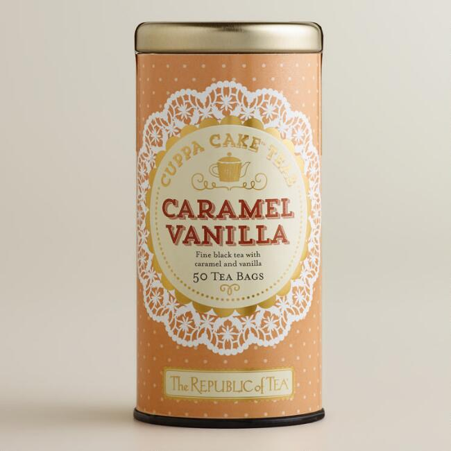 The Republic of Tea Caramel Vanilla Cuppa Cake Tea, 50-Count