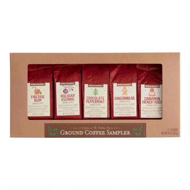 The coffee mix's toasty winter 20 hot chocolate & cider sampler.