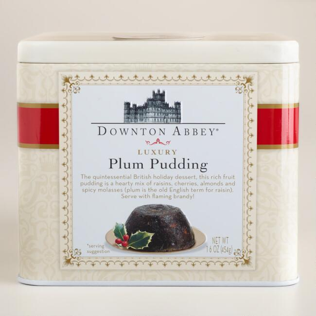 Downton Abbey Plum Pudding