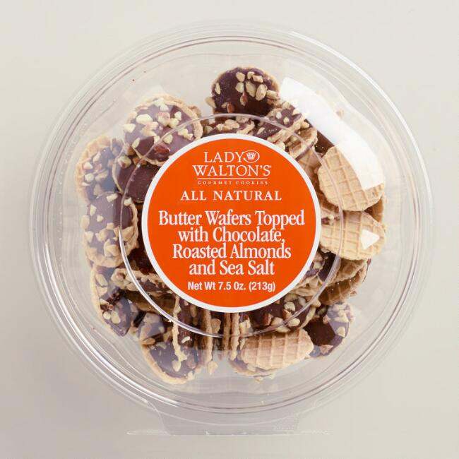 Lady Walton's Sea-Salted Almond Wafers