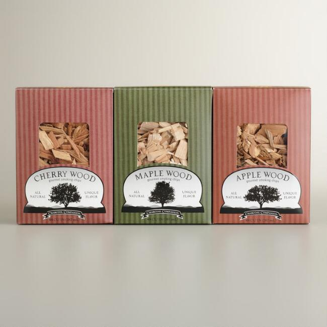 Flavored Smoking Wood Chip Samplers, 3-Pack