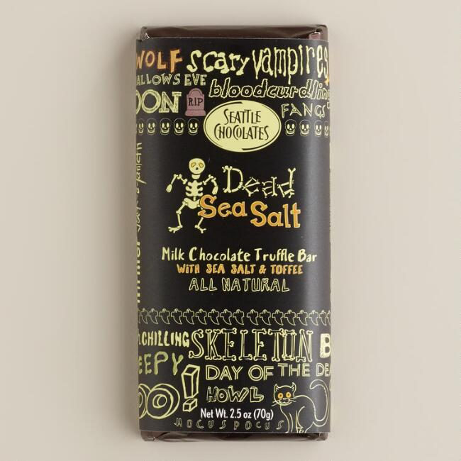 Seattle Dead Sea Salt Chocolate Bar