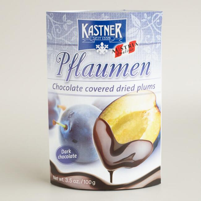 Kastner Dark Chocolate Plum Pieces