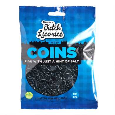 Gustaf's Dutch Licorice Coins Set of 6