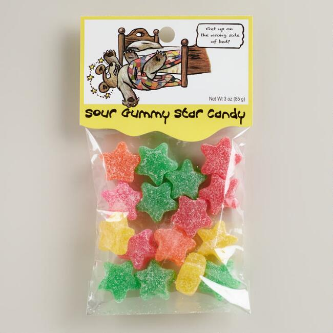 Heritage Gummy Stars Candy, Set of 12
