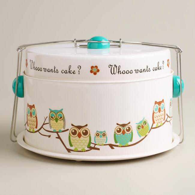 Owl Cake Carrier World Market