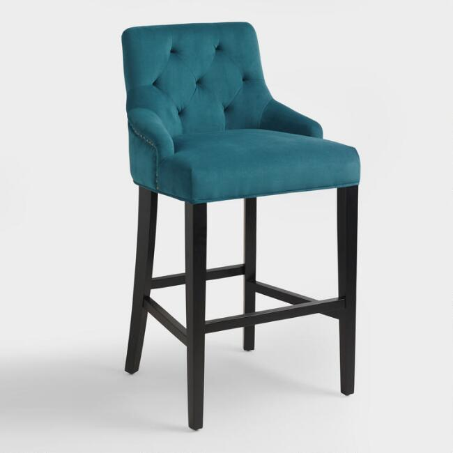 Pacific Blue Lydia Barstool