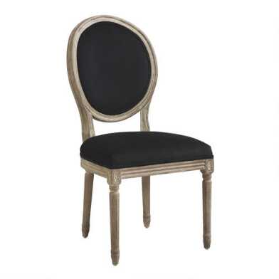 Round Back Paige Upholstered Dining Chair Set of 2