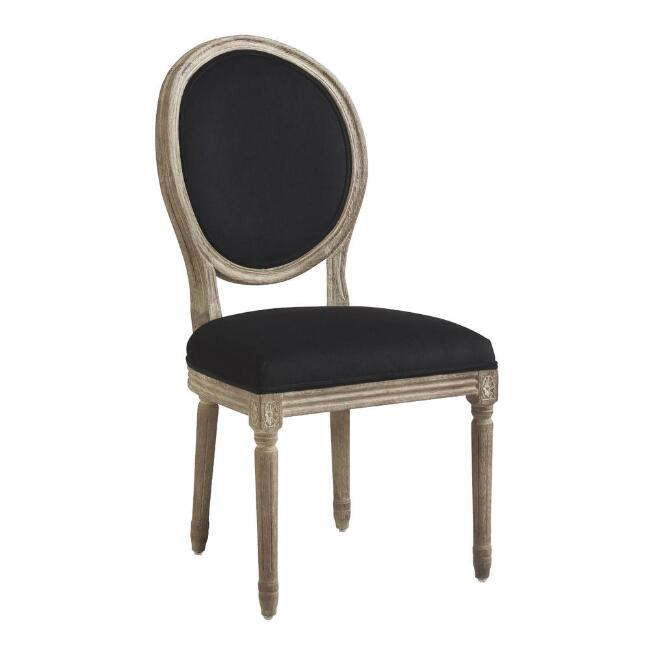 Natural Linen Paige Round Back Dining Chairs Set of 2. When You Need the Perfect Linen Slipcovered Chairs & Linen Upholstered Seating...certainly a lovely collection of options indeed.