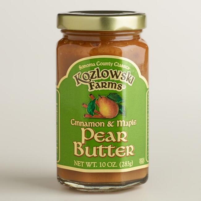 Kozlowski Cinnamon Maple Pear Butter