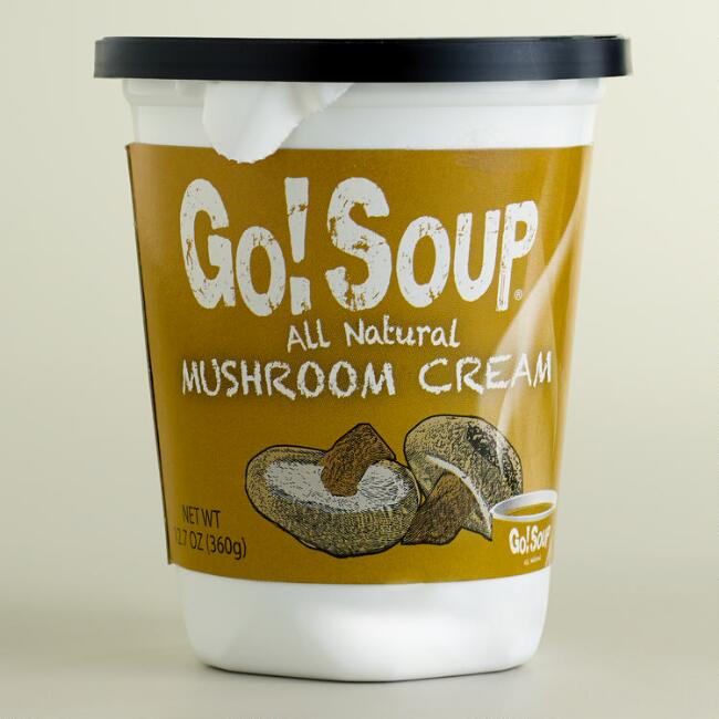 Go! Soup Mushroom Cream Ready-to-Eat Soup