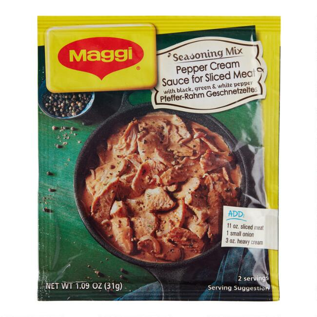 Maggi Pepper Cream Sauce Mix, Set of 6