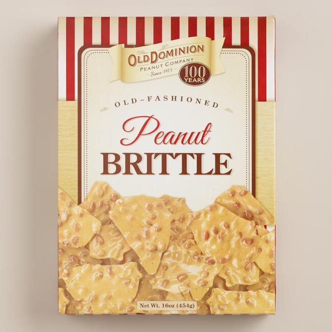 Old Dominion Peanut Brittle Box