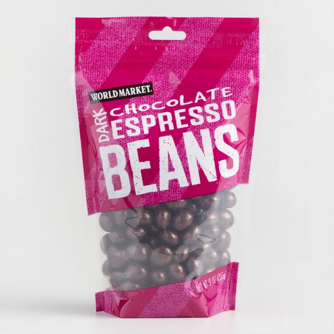 World Market® Dark Chocolate Espresso Beans, Set of 3
