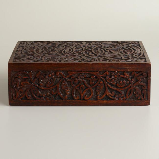Espresso Ashlyn Jewelry Box