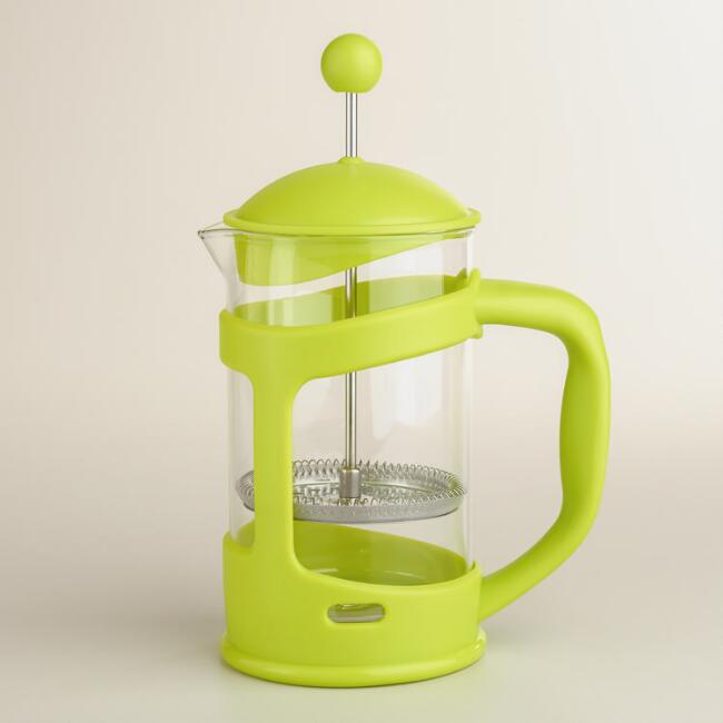 Green 3-Cup French Press