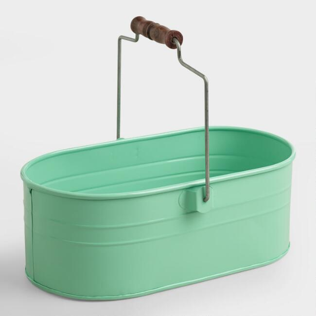 Mint Housekeeping Utility Bucket