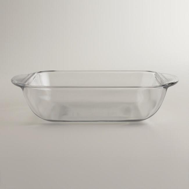 Square Glass Cake Pan