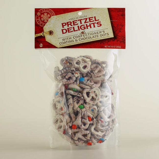 Candy-Coated Pretzel Delights