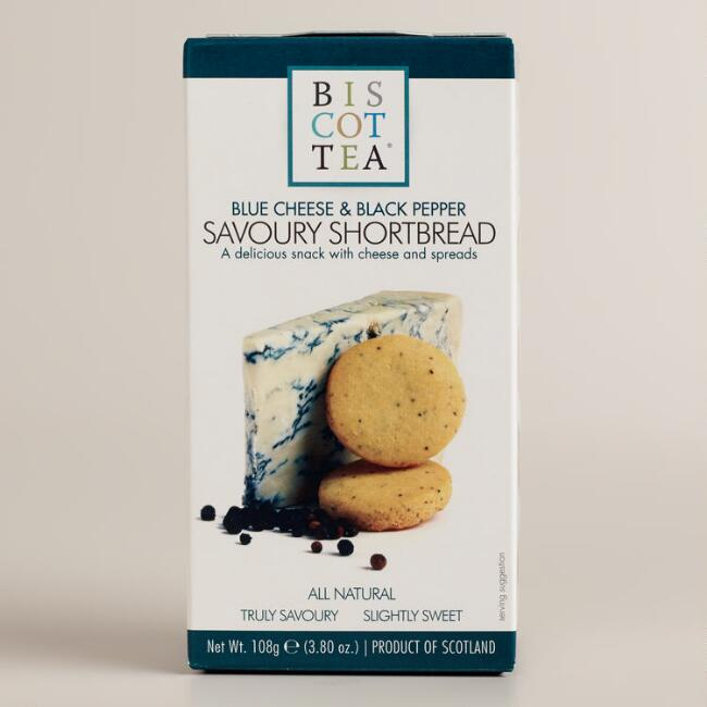 Biscottea Blue Cheese and Pepper Shortbread