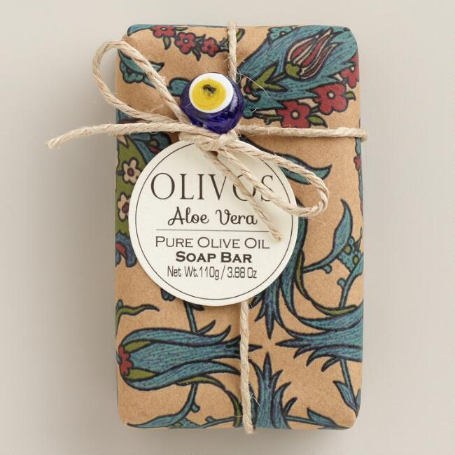 Olivos Turkish Aloe Vera Soap