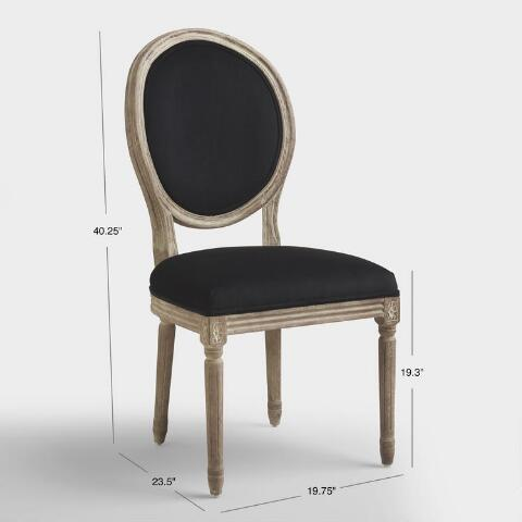 980a6fdeed296 Black Round Back Paige Dining Chairs