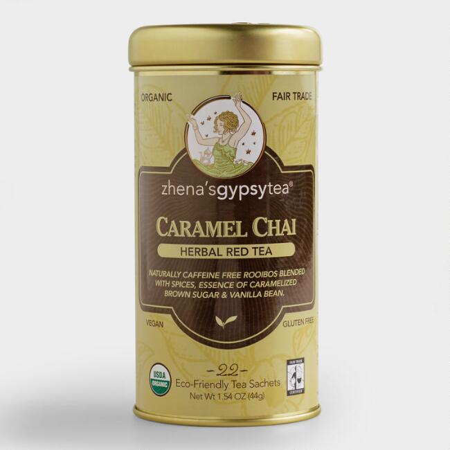 Zhena's Caramel Chai Tea, Set of 6
