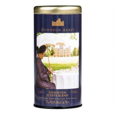 The Republic of Tea Downton Abbey Estate Blend Tea Tin