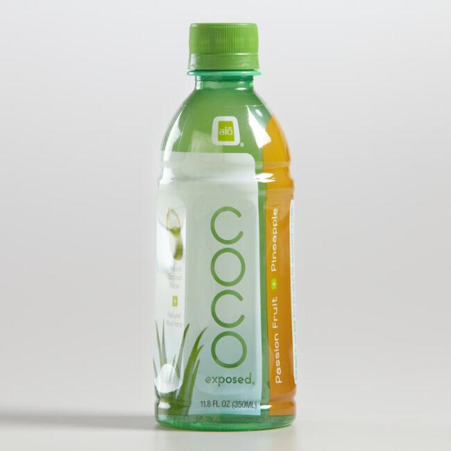 Alo Coco Exposed Passion Fruit Pineapple Drink