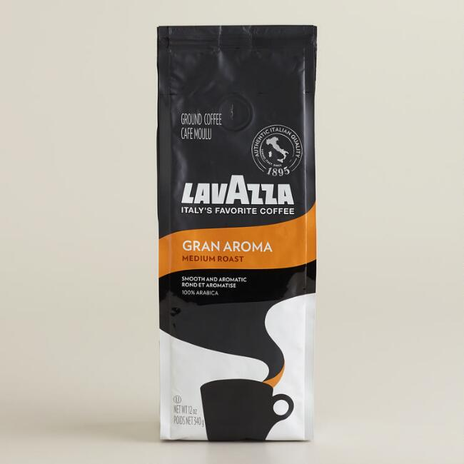 Lavazza Gran Aroma Coffee, Set of 6