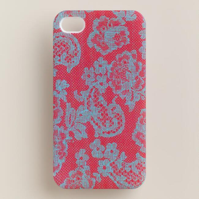Red Lace iPhone 4 Case