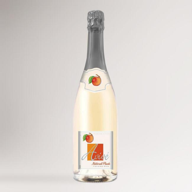 Avivé Natural Peach Sparkling Wine