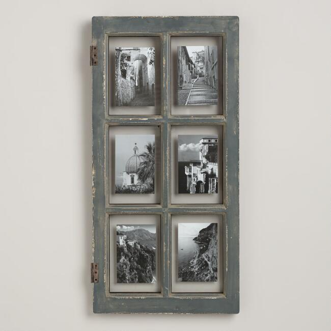 gray windowpane frame - Windowpane Picture Frame