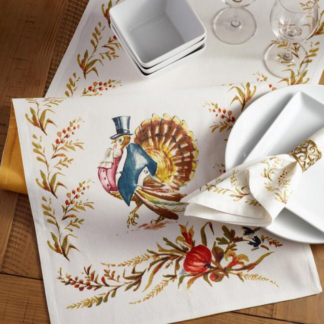 Mr. Turkey Table Linen Collection