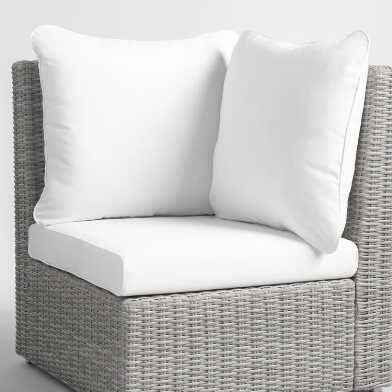 Veracruz Outdoor Corner Replacement Cushions 3 Piece Set